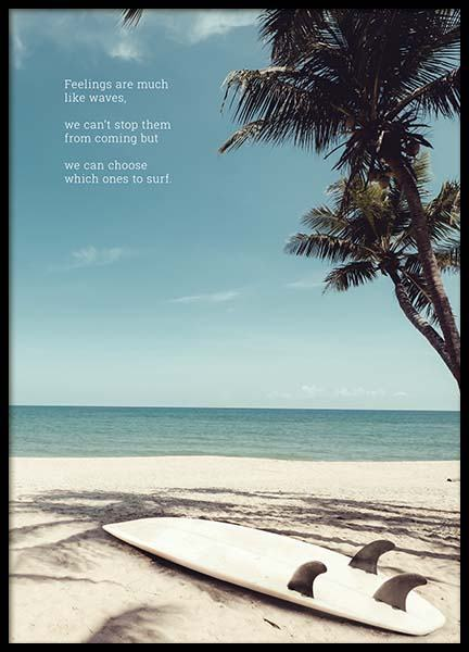 Feelings Like Waves Poster