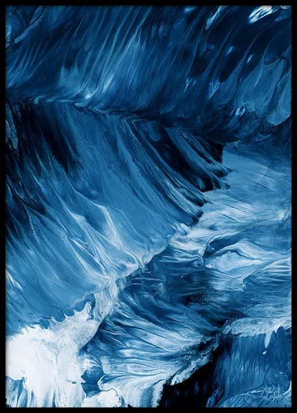 Abstract Waves Poster i gruppen Posters  / Konstmotiv hos Desenio AB (10272)