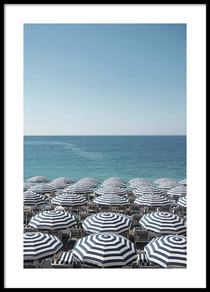 French Riviera Poster i gruppen Posters  / Storlekar / 50x70cm hos Desenio AB (10458)