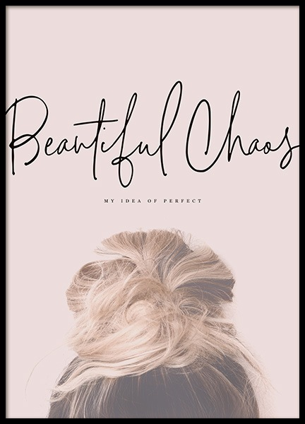 Beautiful Chaos Poster i gruppen Posters  / Fashion  hos Desenio AB (10730)