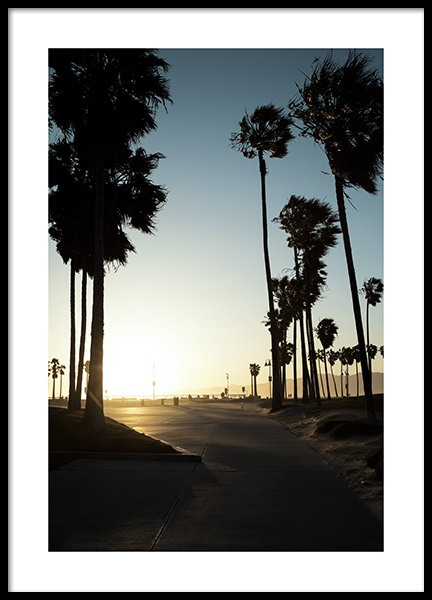 Venice sunset Poster i gruppen Studio Collections / Studio Coast to Coast / Los Angeles hos Desenio AB (10783)