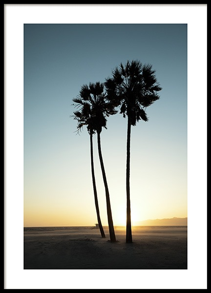 Los Angeles Sunset Poster i gruppen Studio / Coast to coast / Studio Los Angeles hos Desenio AB (10786)
