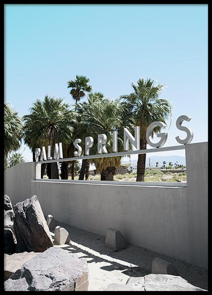 Palm Springs Poster i gruppen Studio Collections / Studio Coast to Coast / Palm Springs hos Desenio AB (10788)
