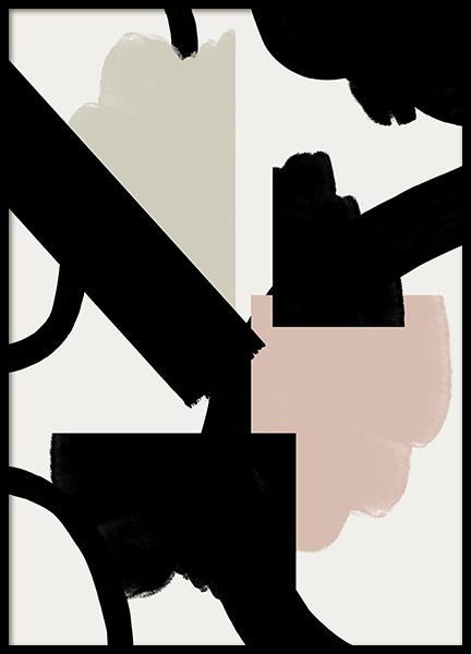 Abstract Shapes No3 Poster