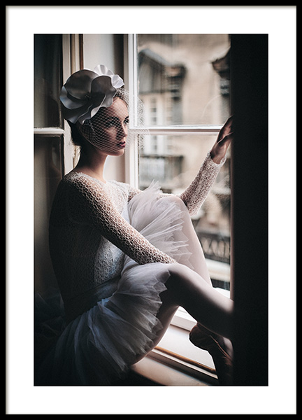 Young Ballerina Poster i gruppen Posters  / Fashion  hos Desenio AB (11145)