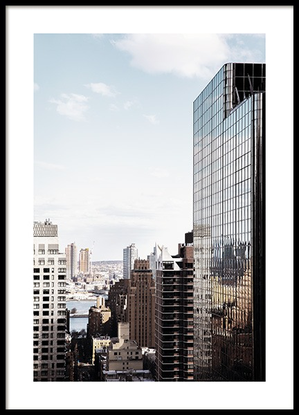 NYC Skyscraper Poster i gruppen Studio Collections / Studio Cosmopolitan / New York hos Desenio AB (11325)