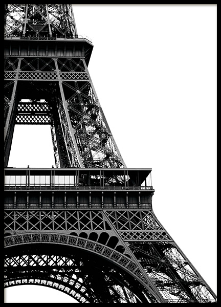 Eiffel Tower Close Up Poster i gruppen Studio Collections / Studio Cosmopolitan hos Desenio AB (11330)