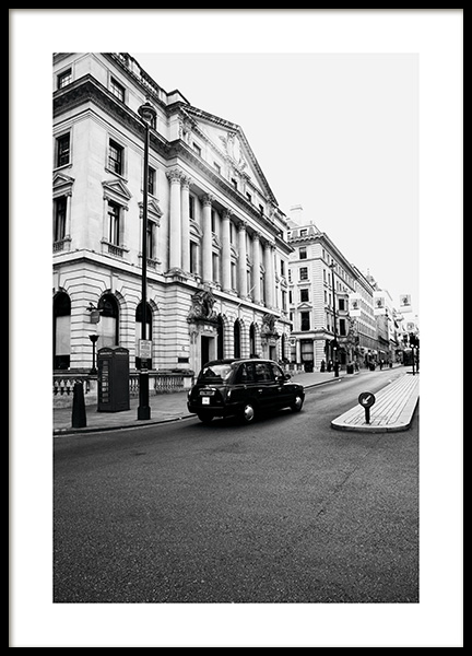 London Taxi Poster i gruppen Studio Collections / Studio Cosmopolitan hos Desenio AB (11363)