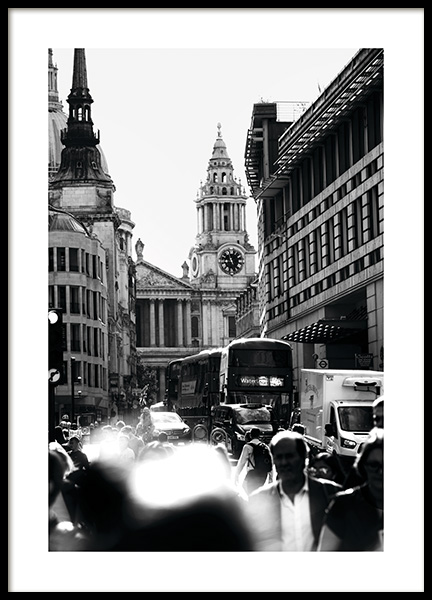 Streets of London Poster i gruppen Studio Collections / Studio Cosmopolitan hos Desenio AB (11365)