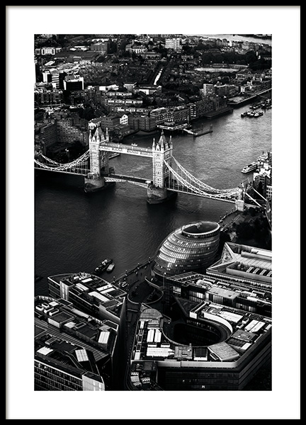View of Tower Bridge Poster i gruppen Studio Collections / Studio Cosmopolitan hos Desenio AB (11375)