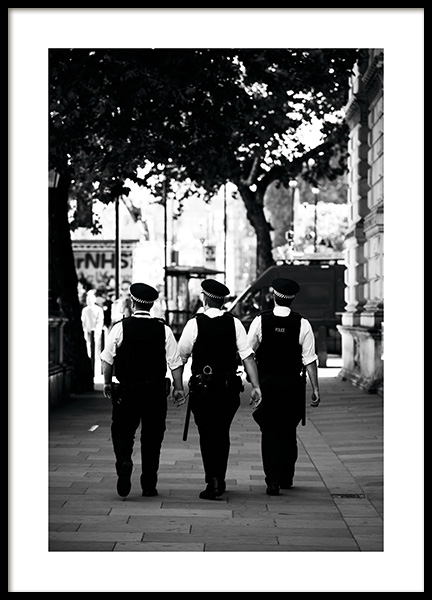 London Police Poster i gruppen Studio Collections / Studio Cosmopolitan hos Desenio AB (11376)