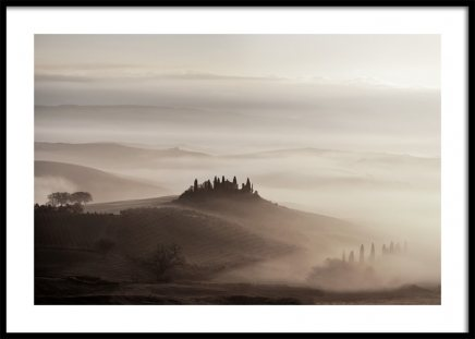 Tuscany Valley Poster
