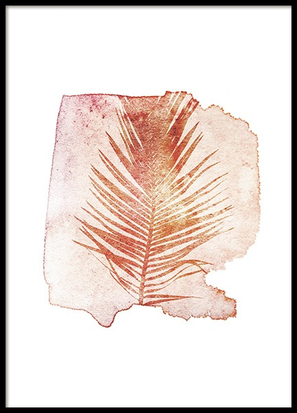 Pressed Cycas Poster i gruppen Posters  / Konstmotiv hos Desenio AB (11563)