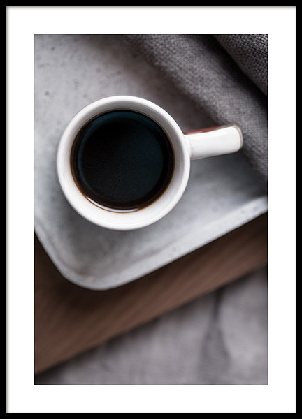 Coffee in Bed Poster i gruppen Posters  / Storlekar / 50x70cm hos Desenio AB (11828)