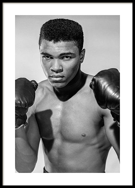 Muhammad Ali Poster i gruppen Posters  / Iconic photos hos Desenio AB (11963)