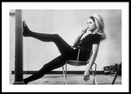 Brigitte Bardot Backstage Poster
