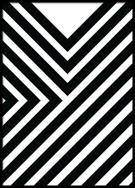 Diagonals Poster