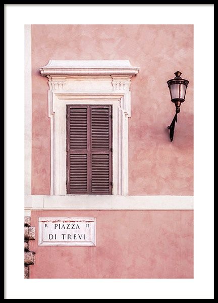 Piazza di Trevi Poster i gruppen Posters  / Fotokonst hos Desenio AB (12012)