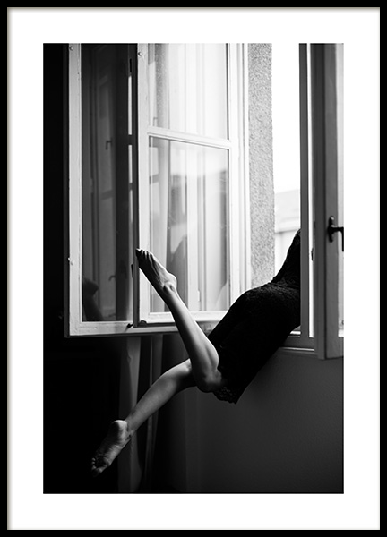 Out the Window Poster i gruppen Posters  / Storlekar / 50x70cm hos Desenio AB (12032)