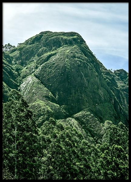 Green Mountain Poster