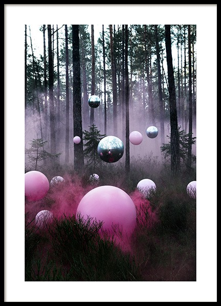 The Mysterious Forest Poster