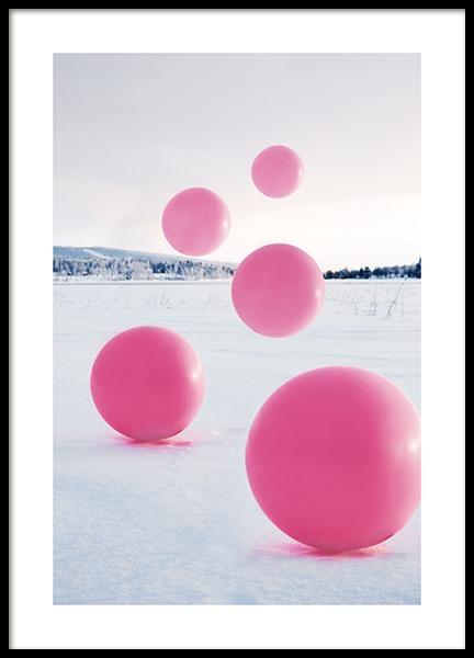 Floating Balloons Poster i gruppen Posters  / Studio Collections / Studio Mystery hos Desenio AB (12179)