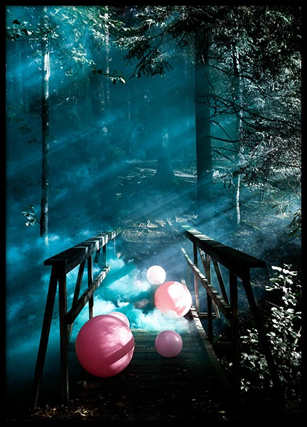 Balloon Bridge Poster