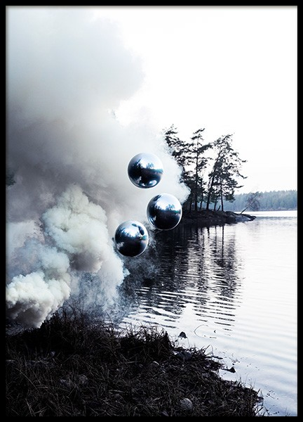 Smoke on the Water Poster