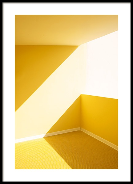 Yellow Balcony Poster i gruppen Posters  hos Desenio AB (12768)