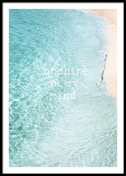 Sunshine on My Mind Poster