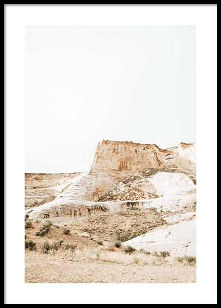 Golden Mountain Poster