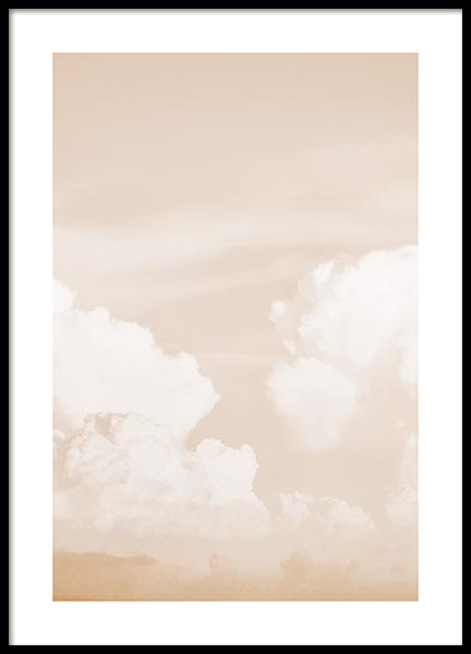 Clouds in Sky Poster i gruppen Posters  / Naturmotiv hos Desenio AB (13200)