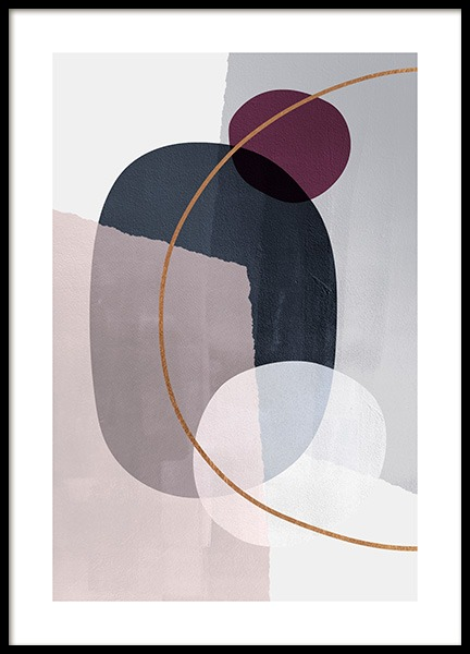 Abstract Color Blocks No2 Poster i gruppen Posters  / Konststilar hos Desenio AB (13227)
