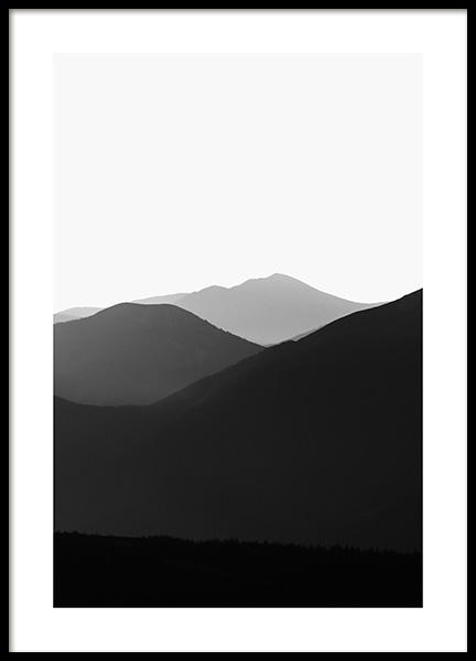 Carpathian Mountains No2 Poster
