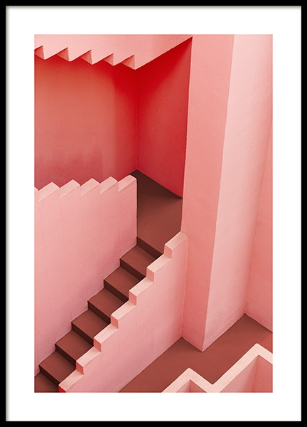 Geometric Architecture Poster