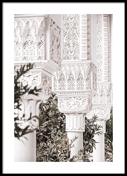 Garden of Architecture Poster