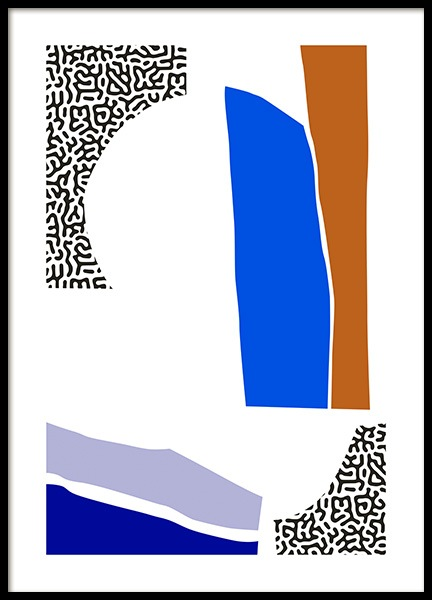 Negative Space Poster