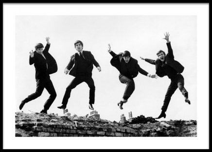 The Beatles Poster i gruppen Posters  / Iconic photos hos Desenio AB (14625)