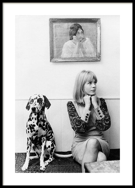 Marianne Faithful Poster i gruppen Posters / Iconic photos hos Desenio AB (14629)