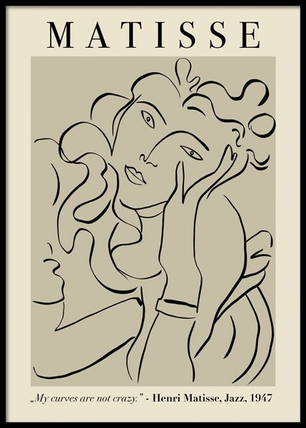 Matisse Woman Poster