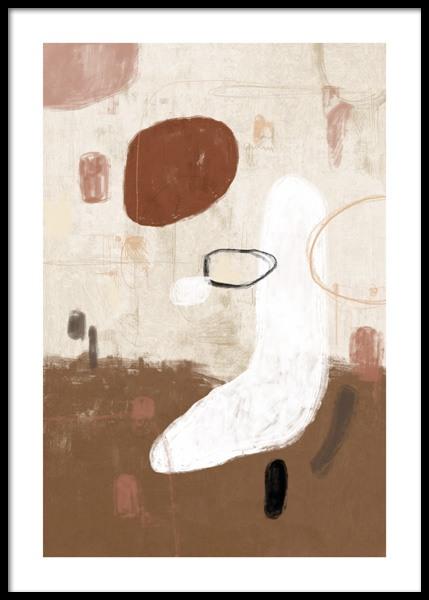Art Shapes No2 Poster