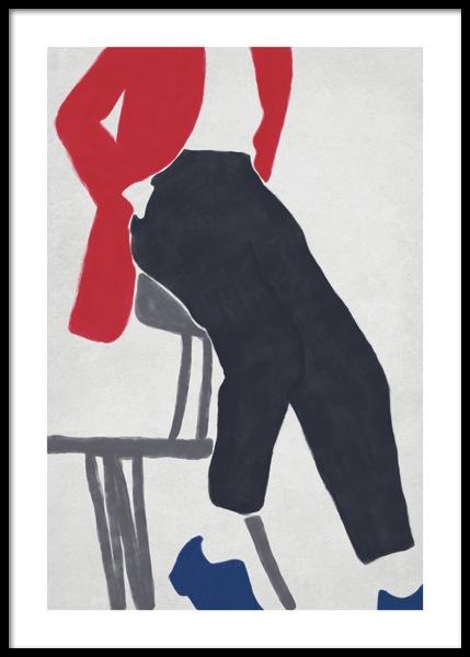Kicking Back Poster