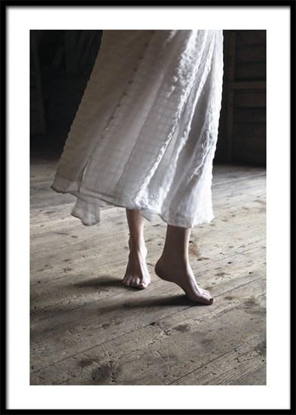 Dancing Barefoot Poster