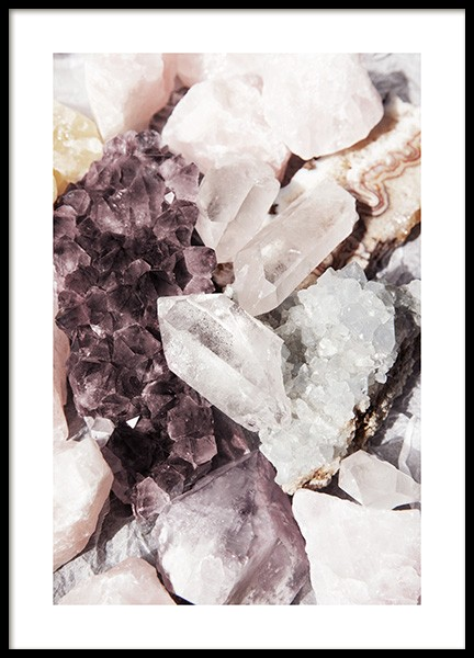 Crystal Stones Poster