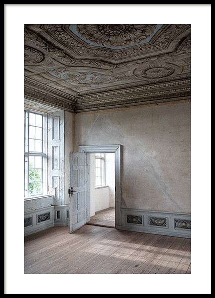 Baroque Room Poster