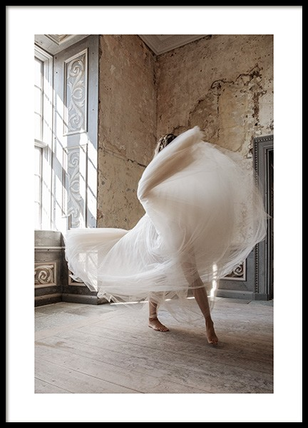 Graceful Dancing Poster