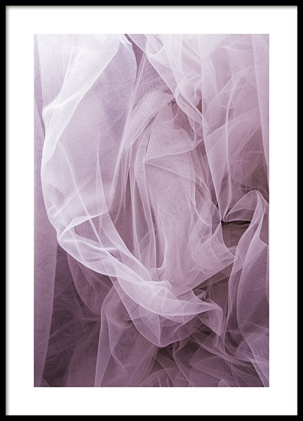 Purple Softness Poster