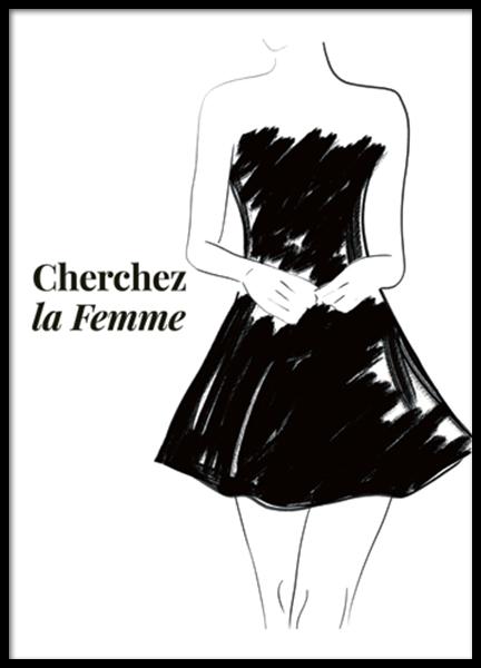 Cherchez la Femme Poster
