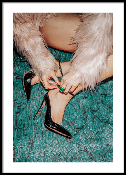 Party Heels On Poster