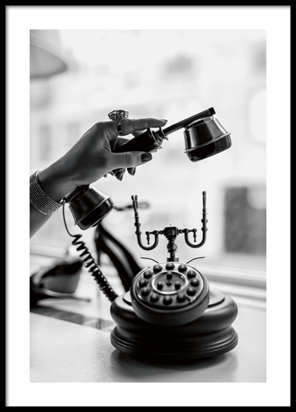 Vintage Call Poster